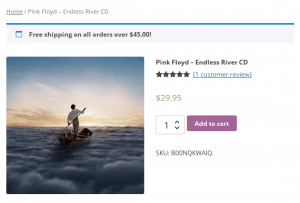 WooCommerce Free Shipping Banner Notice - Product Page