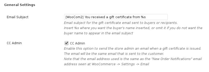 woocommerce gift certificates pro