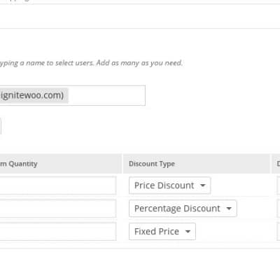 WooCommerce Wholesale Pricing Plus - Sample Product Ruleset