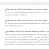 WooCommerce Auctions - Plugin Settings - Part 2