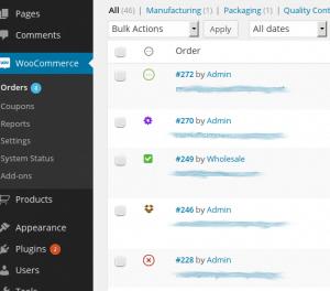 WooCommerce Order Status Manager - Order Statuses