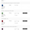 WooCommerce Variations Table Display