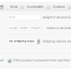 WooCommerce Force Shipping Method -- Product Settings