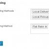 WooCommerce Force Shipping Method -- Plugin Settings