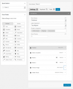 WooCommerce Product Add-on Form Example