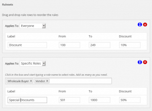 WooCommerce Cart Discount - Rule Settings