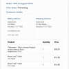 WooCommerce Email Notifications Message