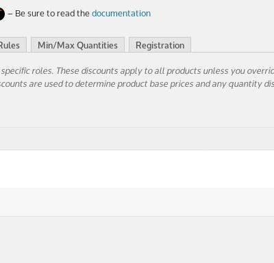 Wholesale Pro Suite - Global Role Price Configuration